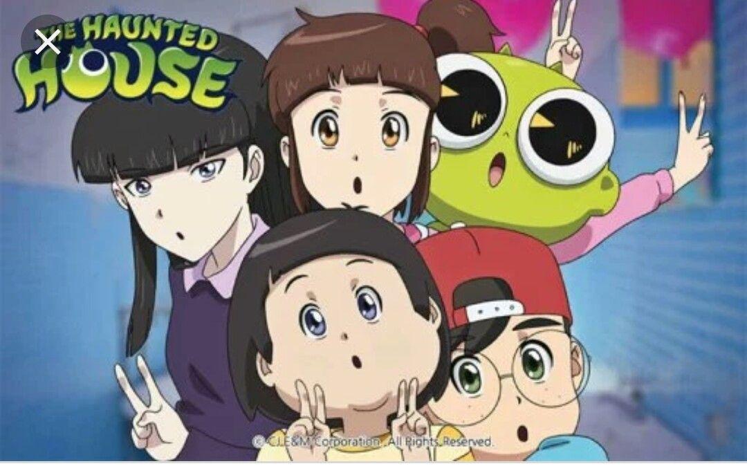 Haunted House Netflix Original Animasi Gadis Animasi