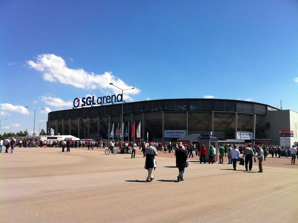 SGL Arena in Augsburg, Bayern