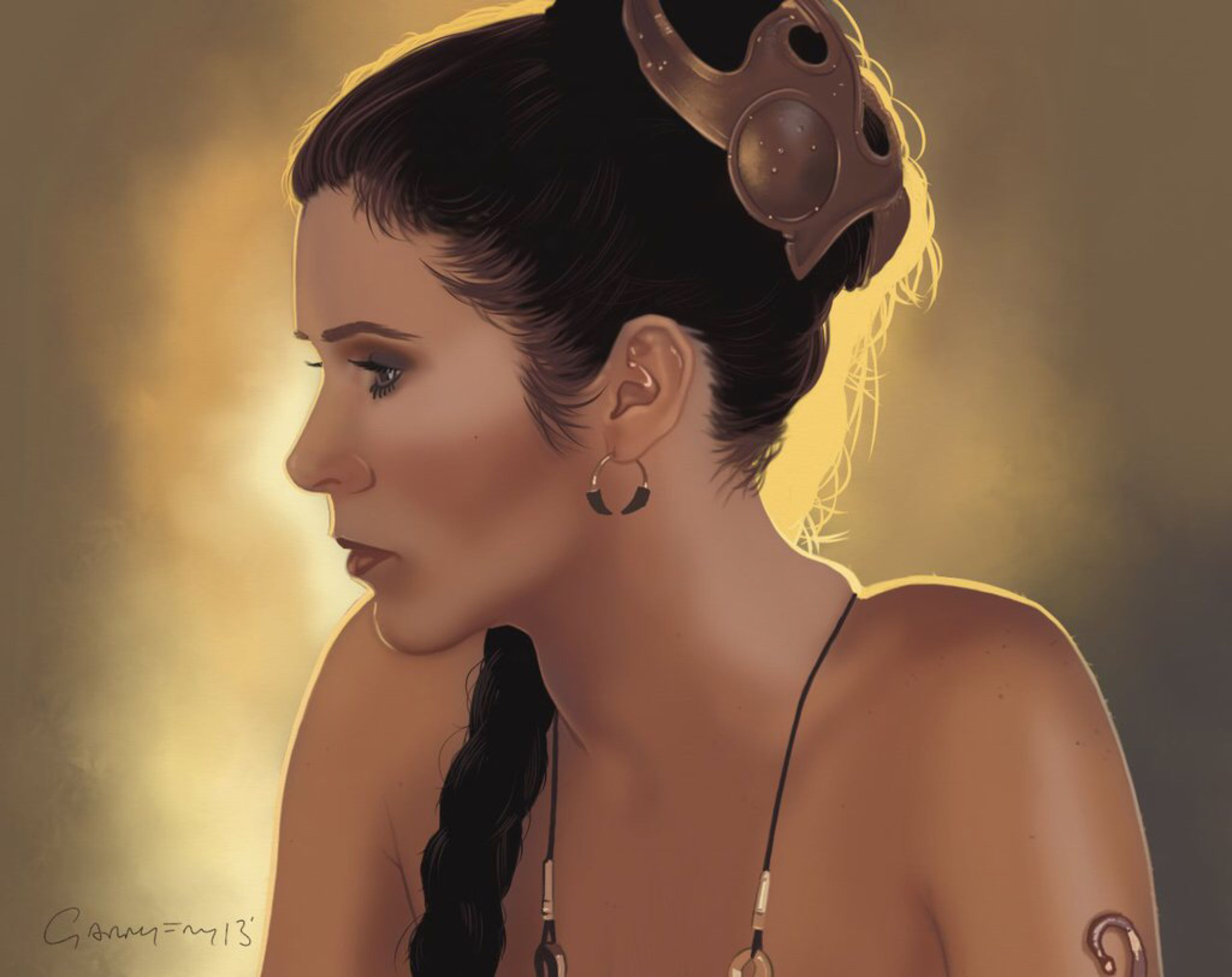 Princess Carrie Fisher (1956 - 2016)