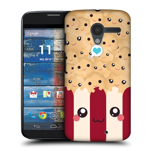Head Case Designs Popcorn Kawaii Hard Back Case Cover for Motorola Moto X | eBay