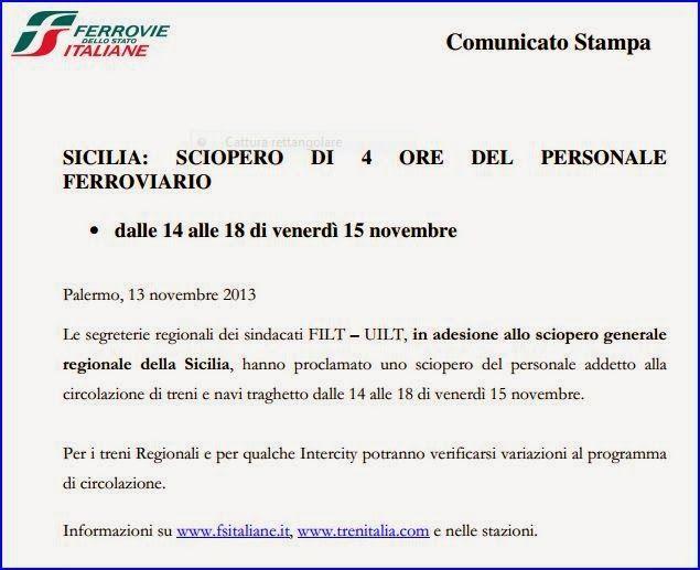 I Pendolari e le Infrastrutture in Sicilia: Modifiche alla circolazione dei treni regionali, i...