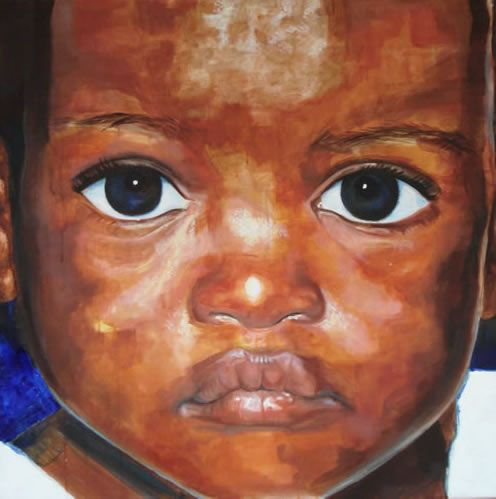 African American Acrylic Painting   title new portrait painting art medium image size 30 x 30 this ...