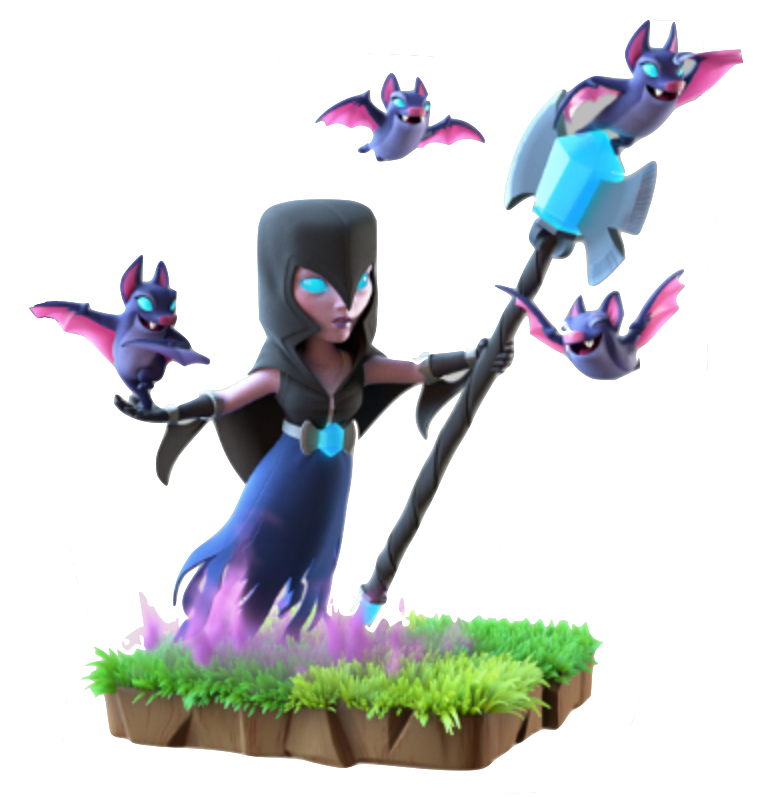 Image result for clash of clans  night witch wallpaper