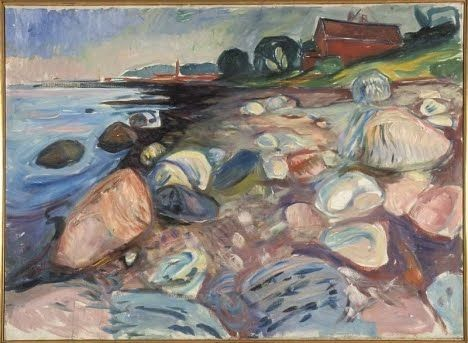 """Landscape by Edvard Munch (the same artist who painted """"The Scream""""!)"""