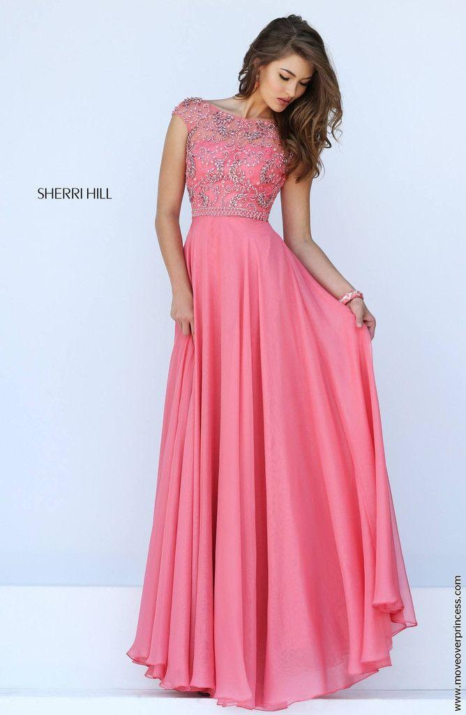 Sherri Hill 50132 | Fiestas rosadas, Alta costura y Vestidos de fiesta
