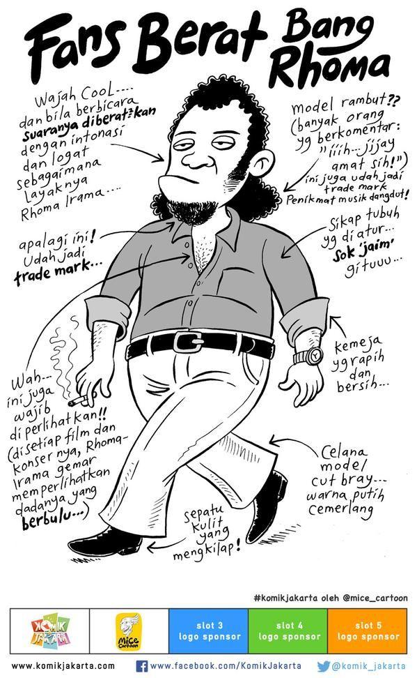 Komik Jakarta On Komik Jakarta Pinterest Cartoon Jakarta And