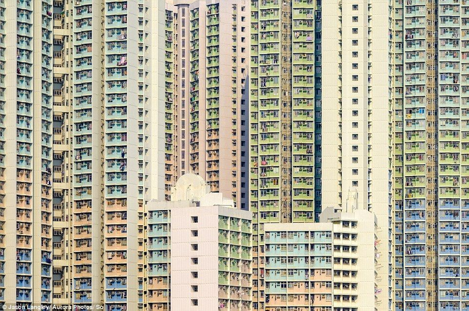 The Stacked Urban Architecture Of Hong Kong The Grid Yick - Photographer captures madness real estate hong kong