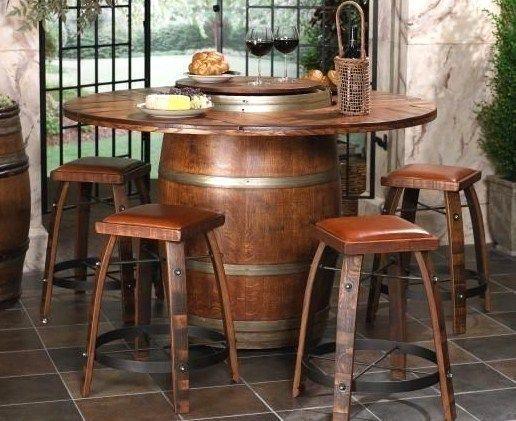 Tables de jardin originales, insolites, recyclées | déco | Pinterest ...