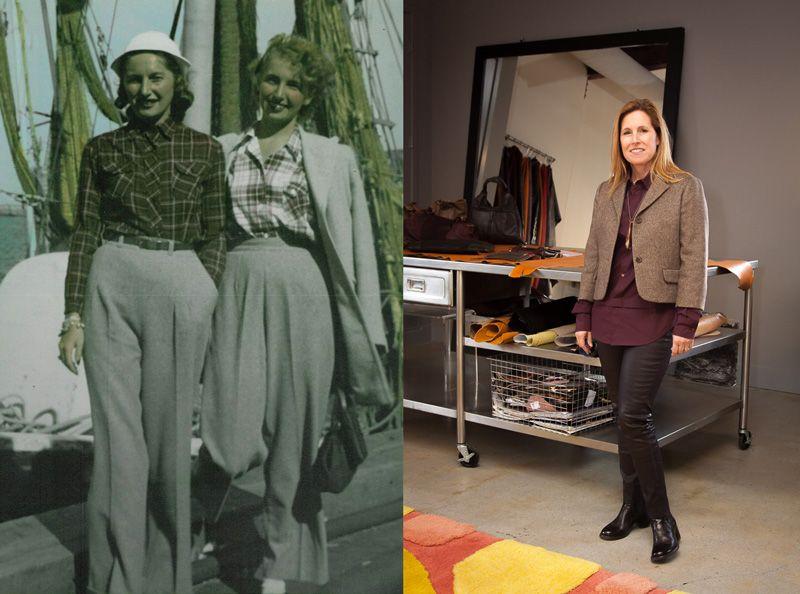 Lisa Rissetto founder of 49 Square Miles designer handbags purses