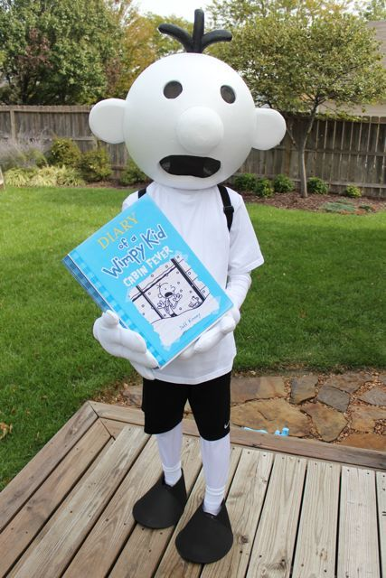 Diary of a wimpy kid costume mask Hands Greg kids adults child children/'s