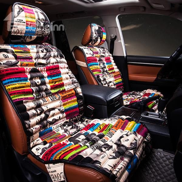 Graffiti Art Style Most Popular Universal Five Car Seat Cover