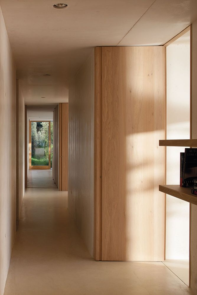 Fullu2013Height Light Timber Doors | Match Timber Joinery | Sandy Colours |  Simple Detailing