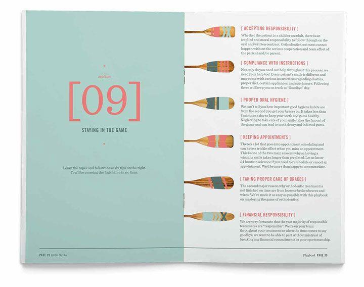 test monki, hello ortho, brochure design, guide to orthodontics, branding, collateral design, graphic design, napa valley, california