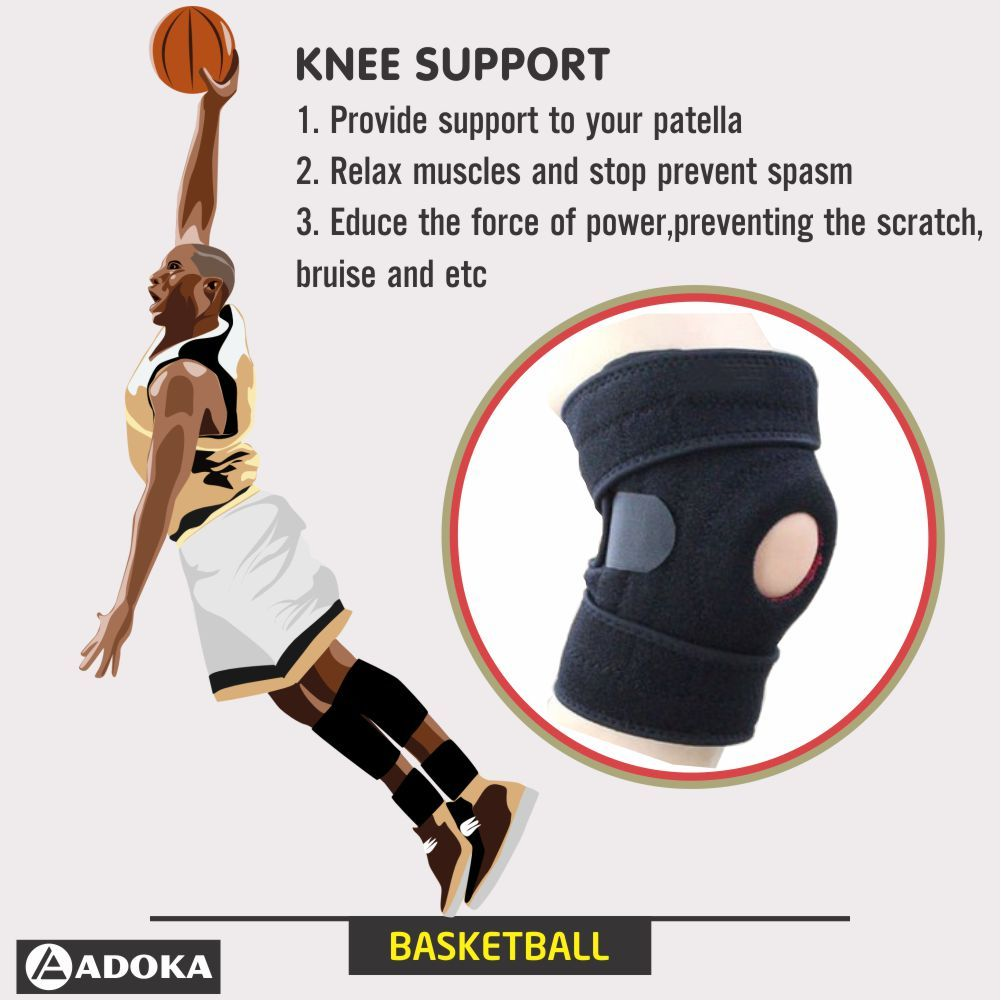 Power Knee Stabilizer Pads Knee Support Knee Compression Sleeve Knee Wraps