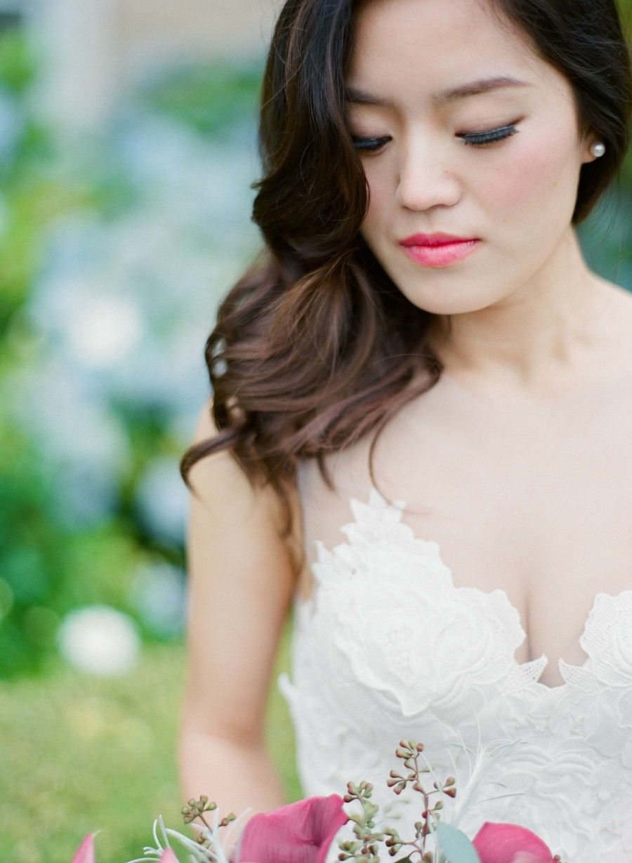 Elegant Newcastle Golf Club Wedding Asian bridal makeup