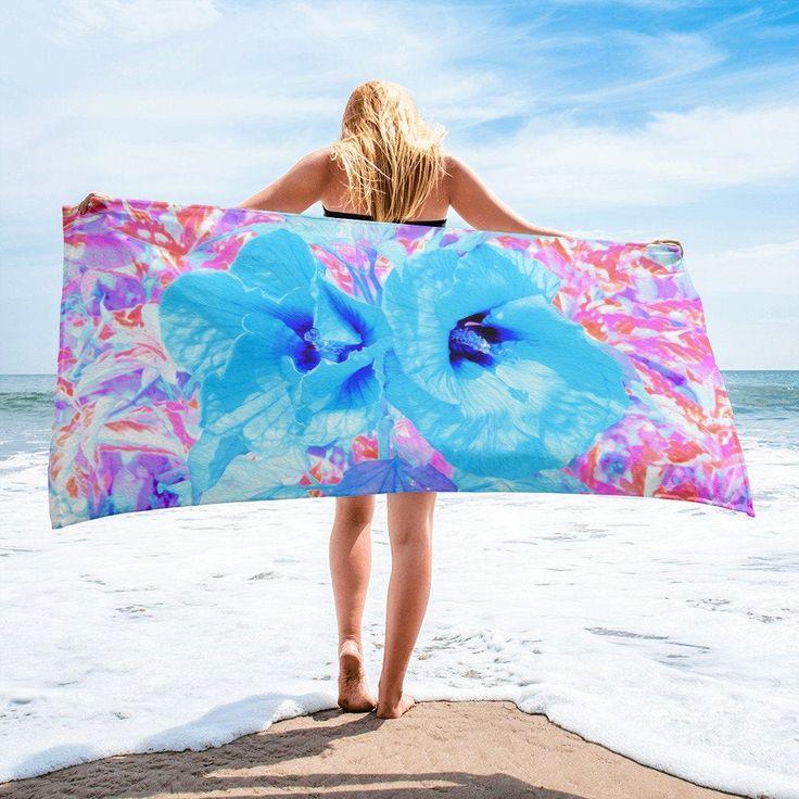 Beach Towel Oversize Bath Towel Vacation Beach Towel Two Cool