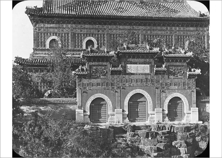 Photograph-China - Topmost temple, Summer Palace-7