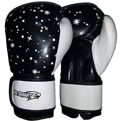 Punch bag Boxing Gloves Junior Mitts Punch Bag Children MMA Youth White//blue 6oz