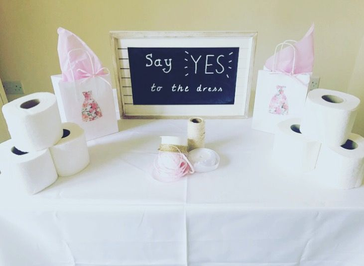 Say Yes To The Dress A Fun Creative Hen Party Or Bridal