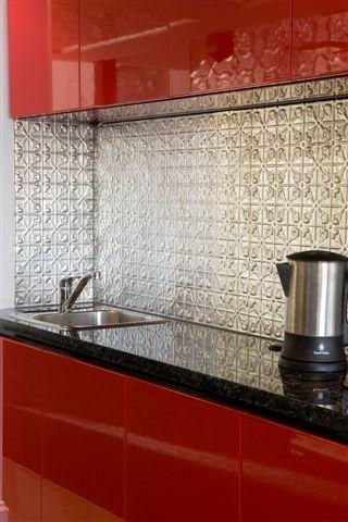 Home Pressed Tin Splashback Pressed Metal Pressed Tin