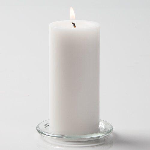 2 1/2 inch (64mm) diameter pillar candle