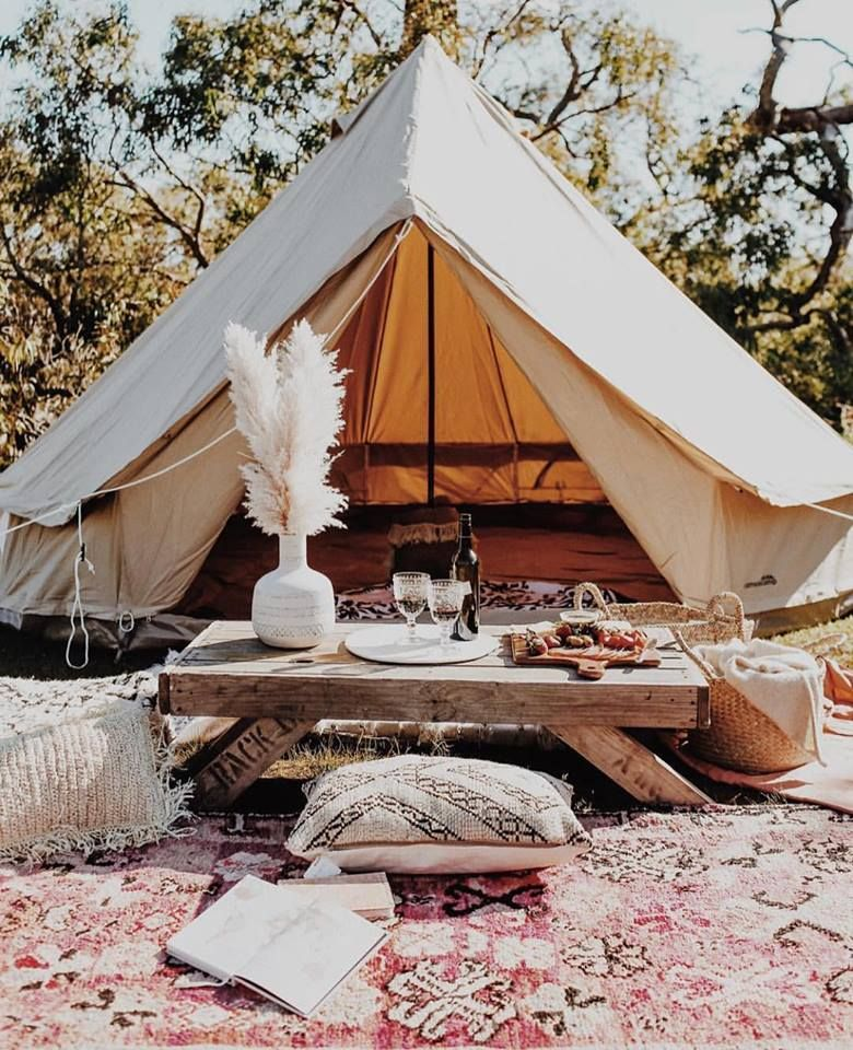 bell tent, tent, glamping