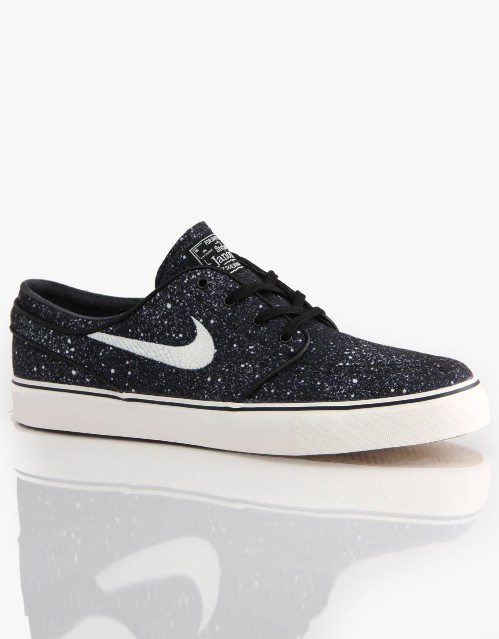 Nike SB Zoom Stefan Janoski Premium Skate Shoes Black