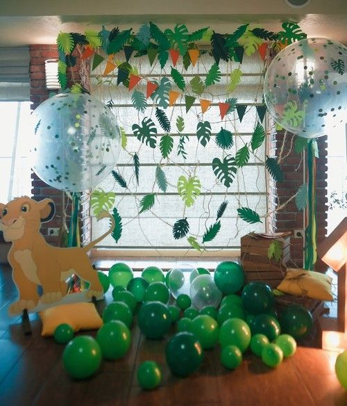 Baby Leo Party Candy Bar Lion King Theme 1st Birthday