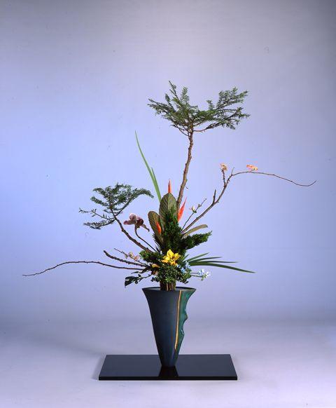 Uppsala linneanska trädgårdar : Ikebana: Ikebana & Contemporary Plant Art 2014