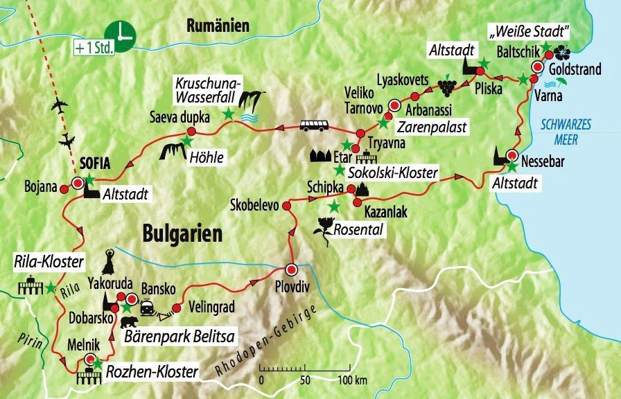 Bulgarien Rundreise Kultur Und Natur Saison 2020 Flugreise