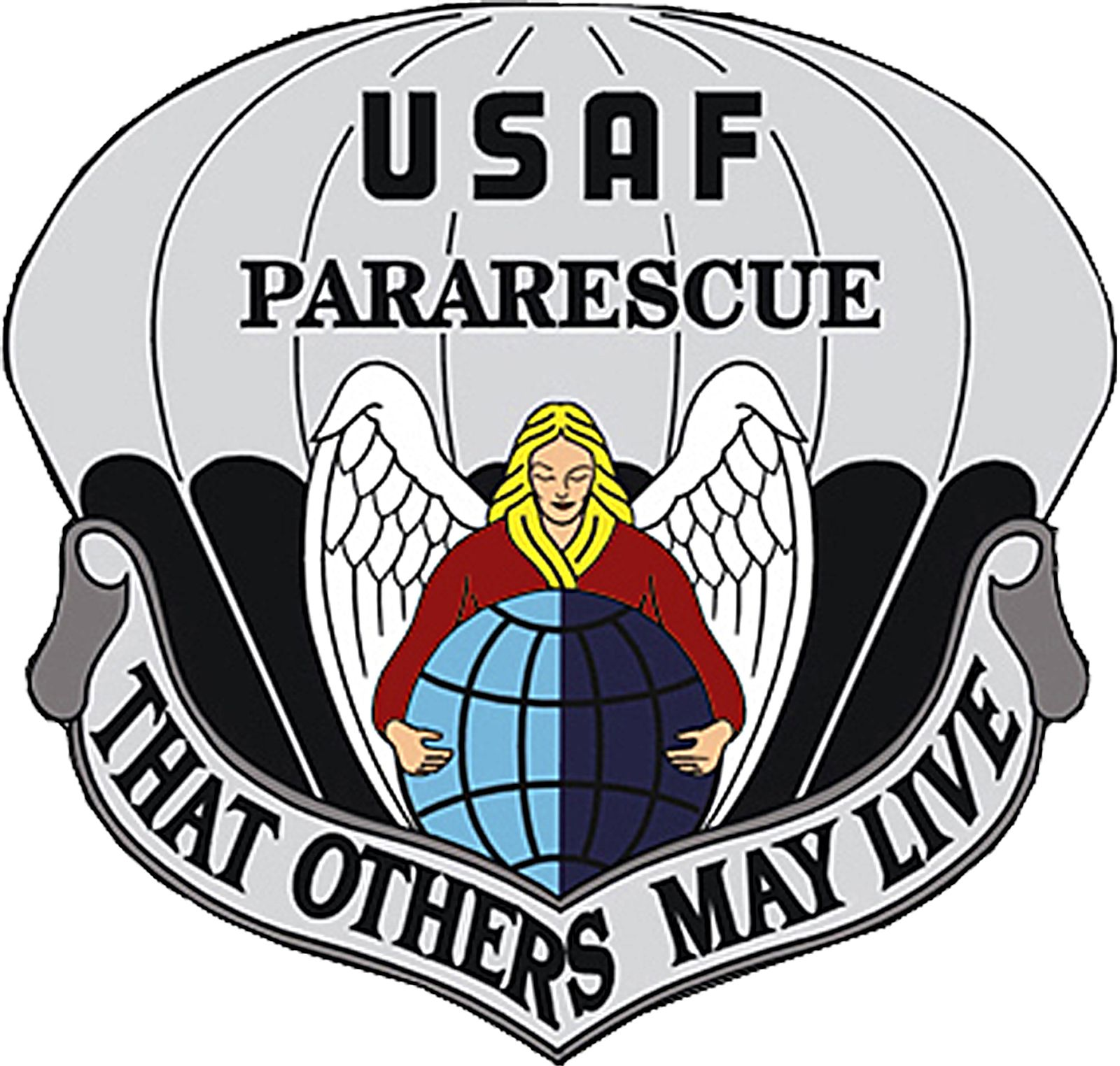 Pararescue Logo Air force pararescue, Usaf pararescue