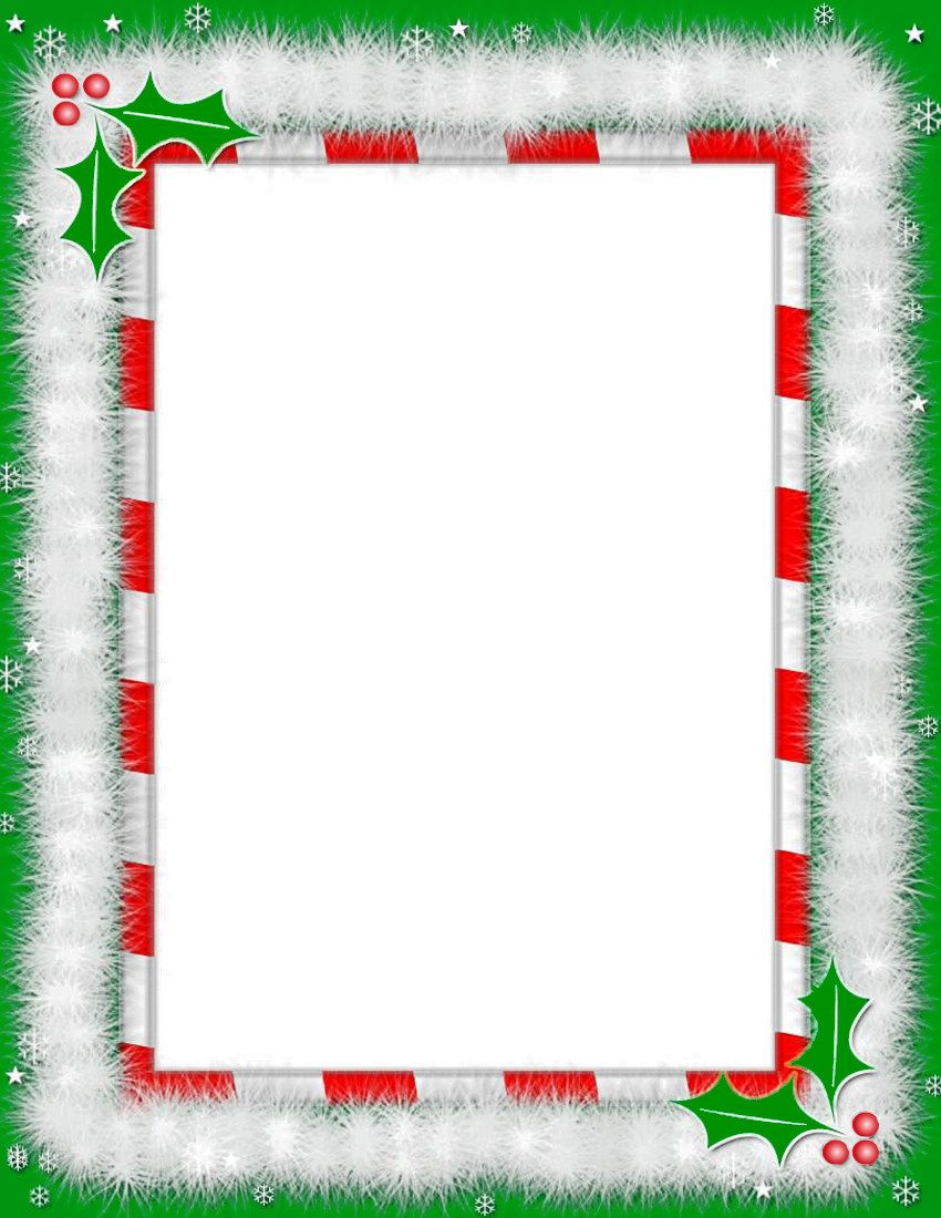 free christmas borders for word