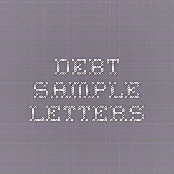 Debt Sample Letters finances Pinterest Credit bureau, Letter - new sample letter to refund tickets