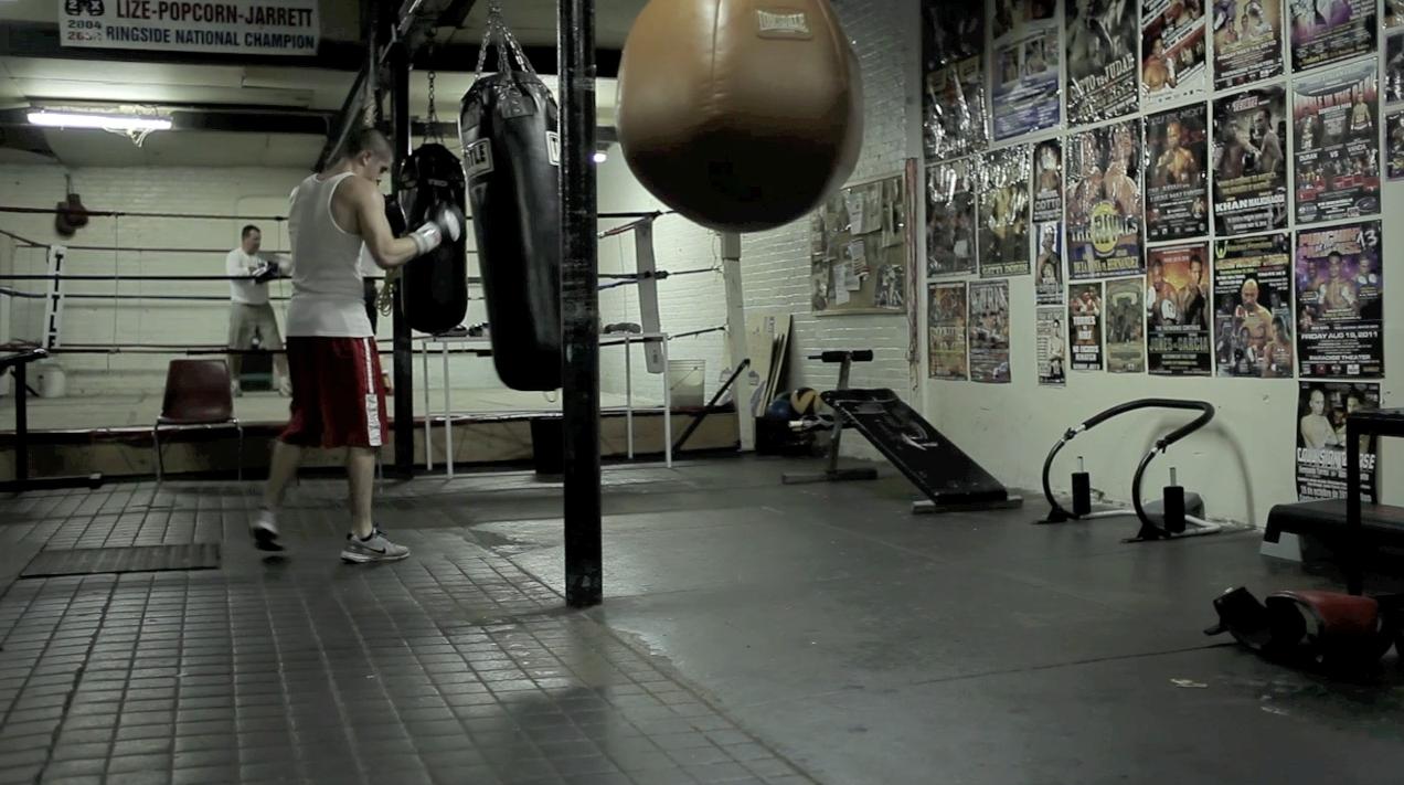 Boxing gym gymnasium rebrand pinterest