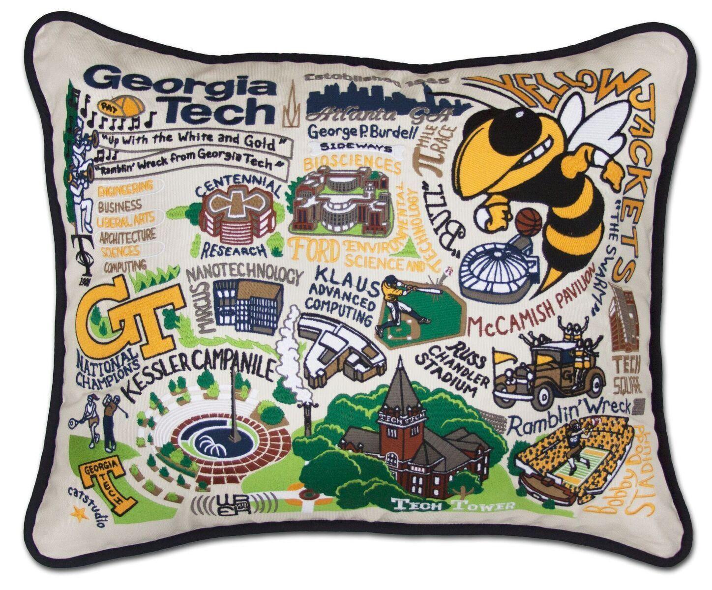 This original design celebrates the georgia tech go yellow jackets