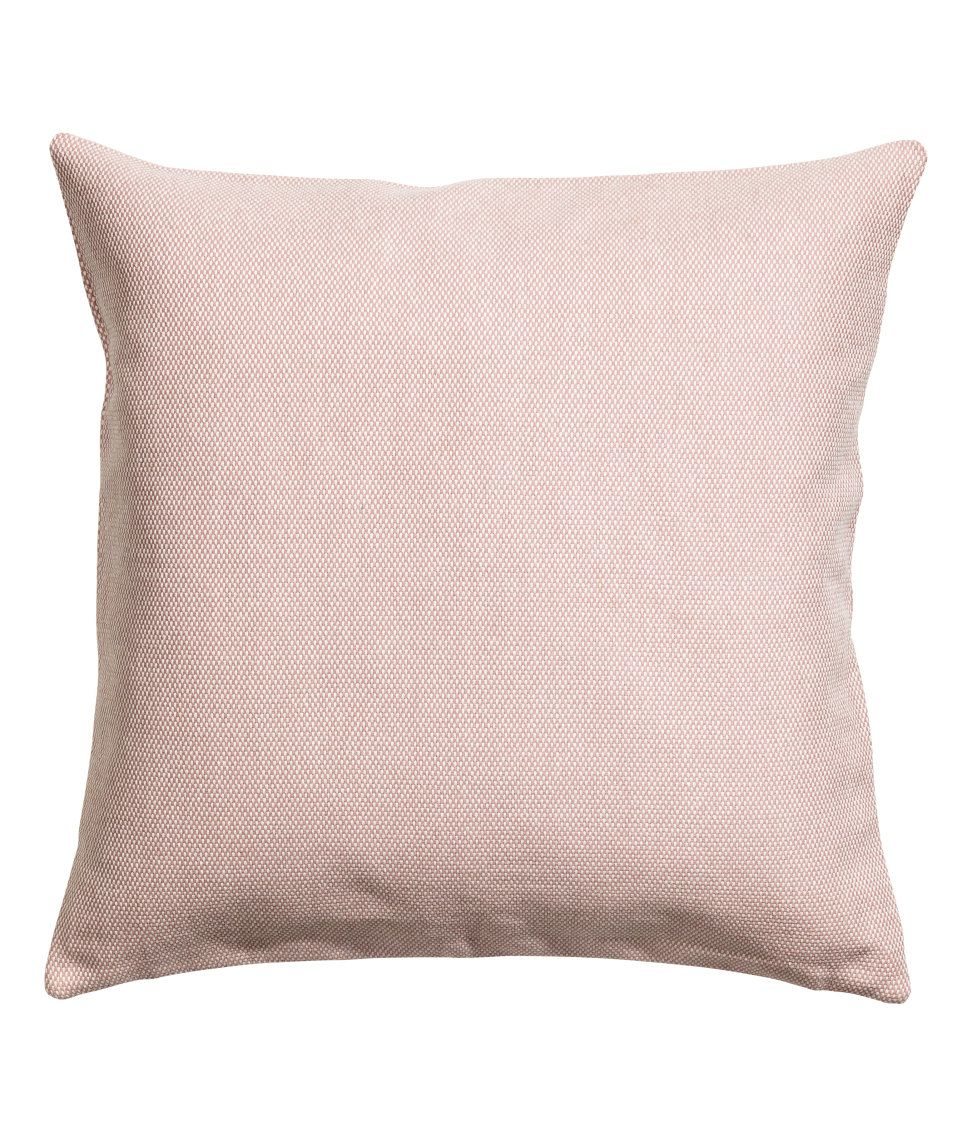 Check This Out Cushion Cover In Textured Weave Cotton Fabric
