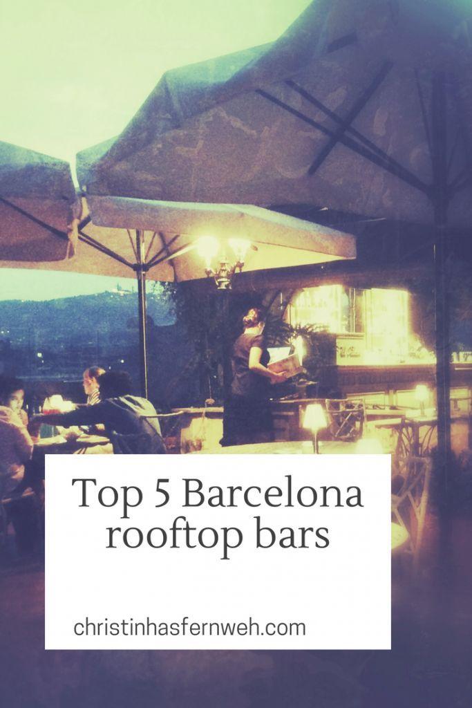 Top 5 rooftop bars in Barcelona | Barcelona rooftop bar ...
