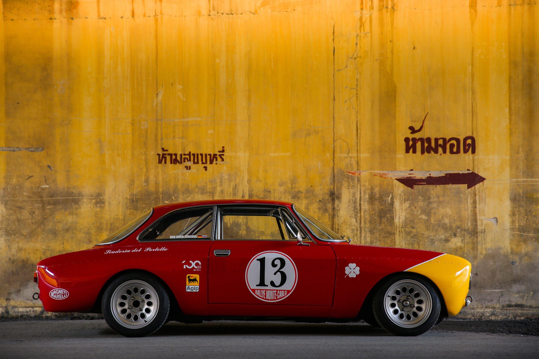 This Alfa Romeo GTAm Is Patroling The Streets Bangkok