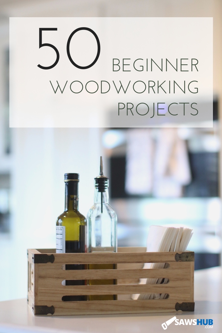 50 Small, Simple, & Easy Beginner Woodworking Projects