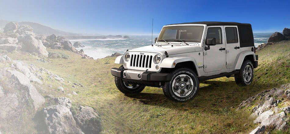 2015 Jeep Wrangler Sahara Unlimited Trail Rated 4 Door Suv White