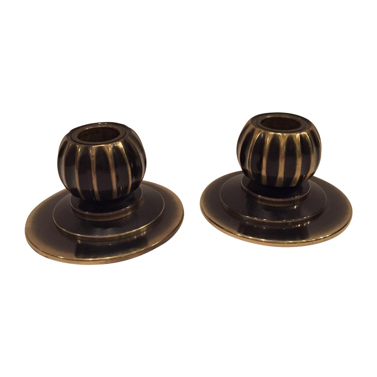 Brass mellon candle holders brass products and candle holders