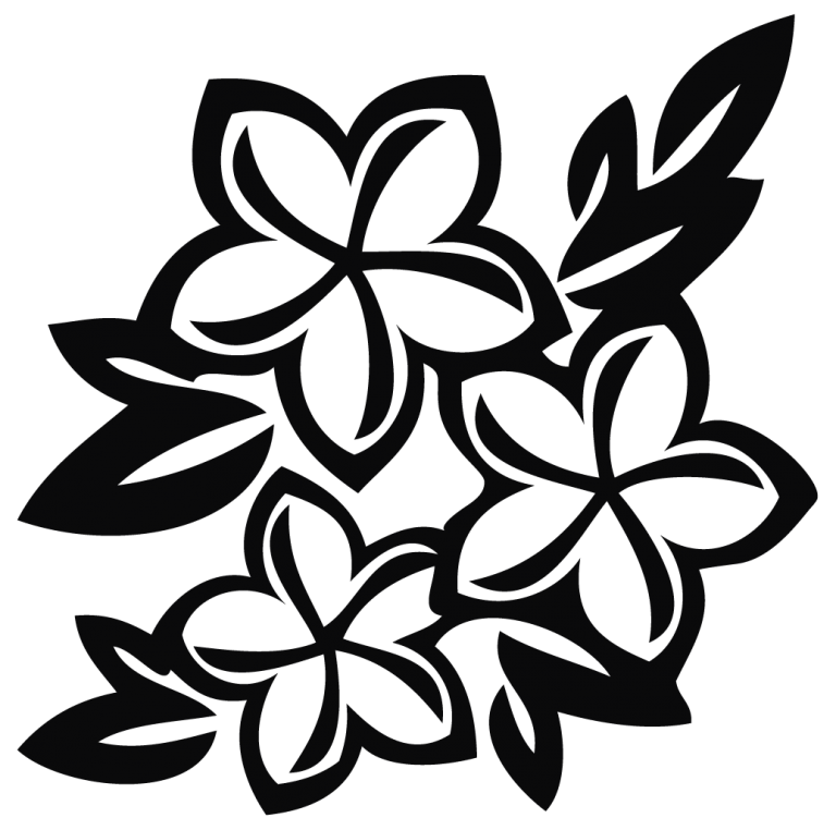Flower Clipart Black And White Png Cloud Clipart Flower Clipart Black And White Flowers Free Clip Art
