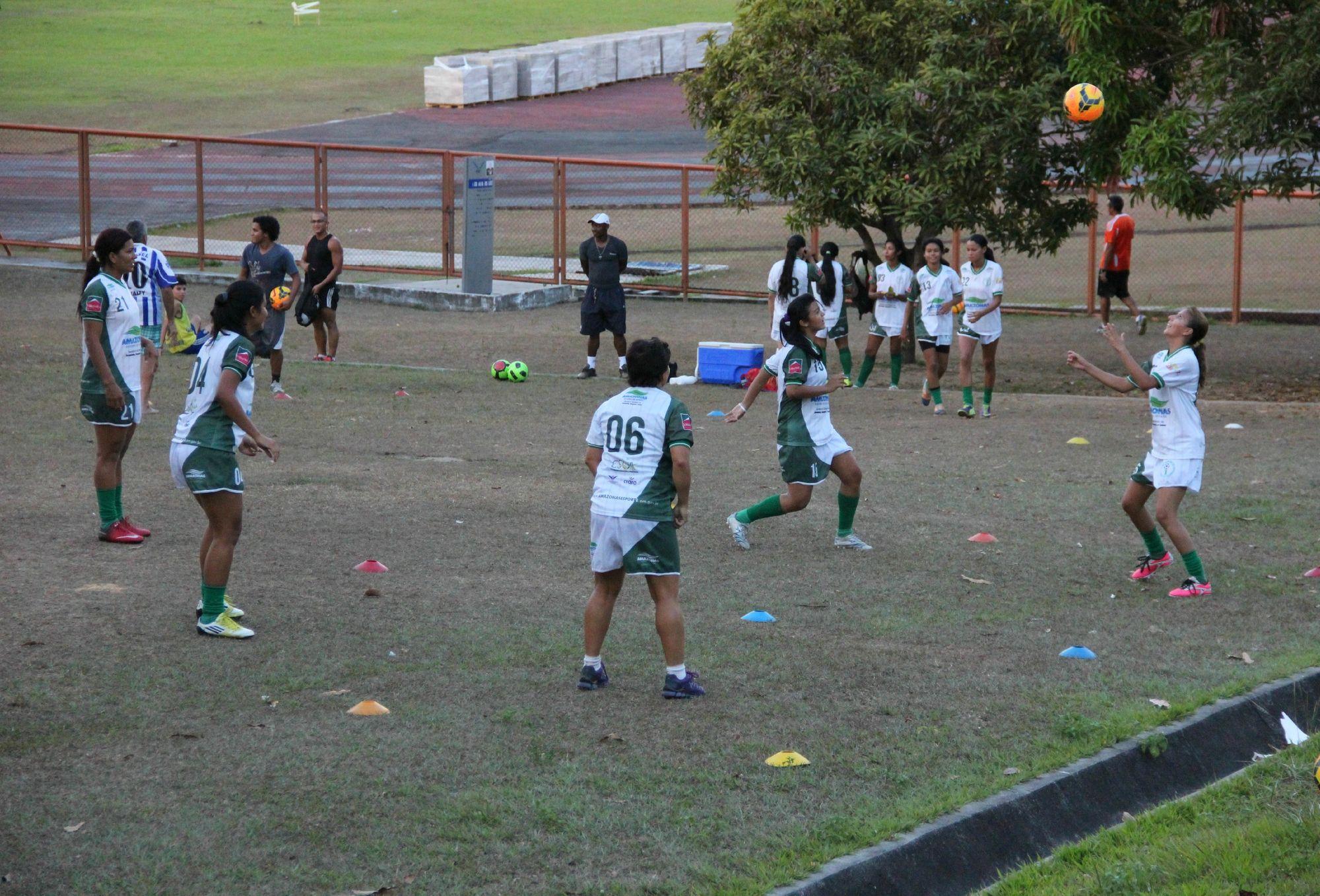 Iranduba-AM tem jogo chave com o Caucaia-CE pelo Brasileiro Feminino #globoesporte