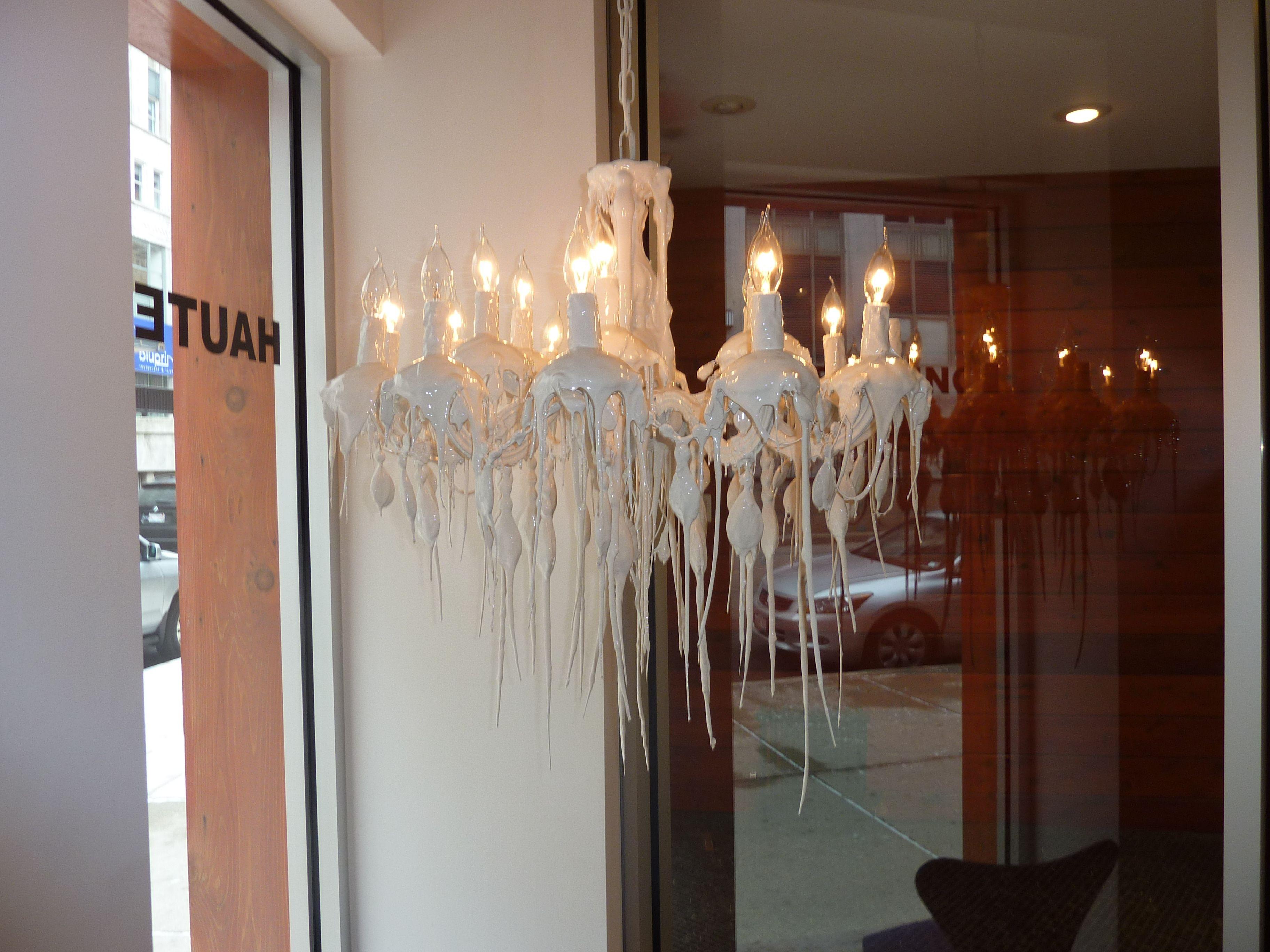 office chandelier lighting. Haute Living Melted Candle Chandelier- Cool For My Office Chandelier Lighting S