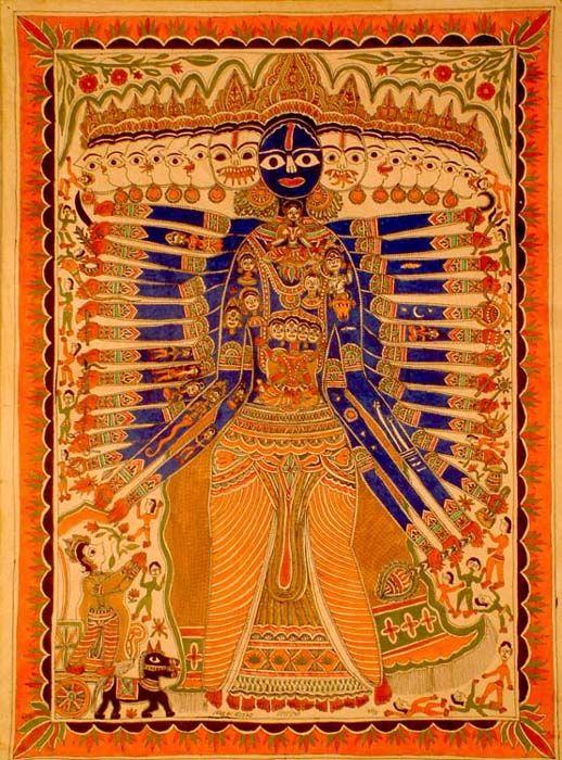 Vishvarupa, The Cosmic Man as ...
