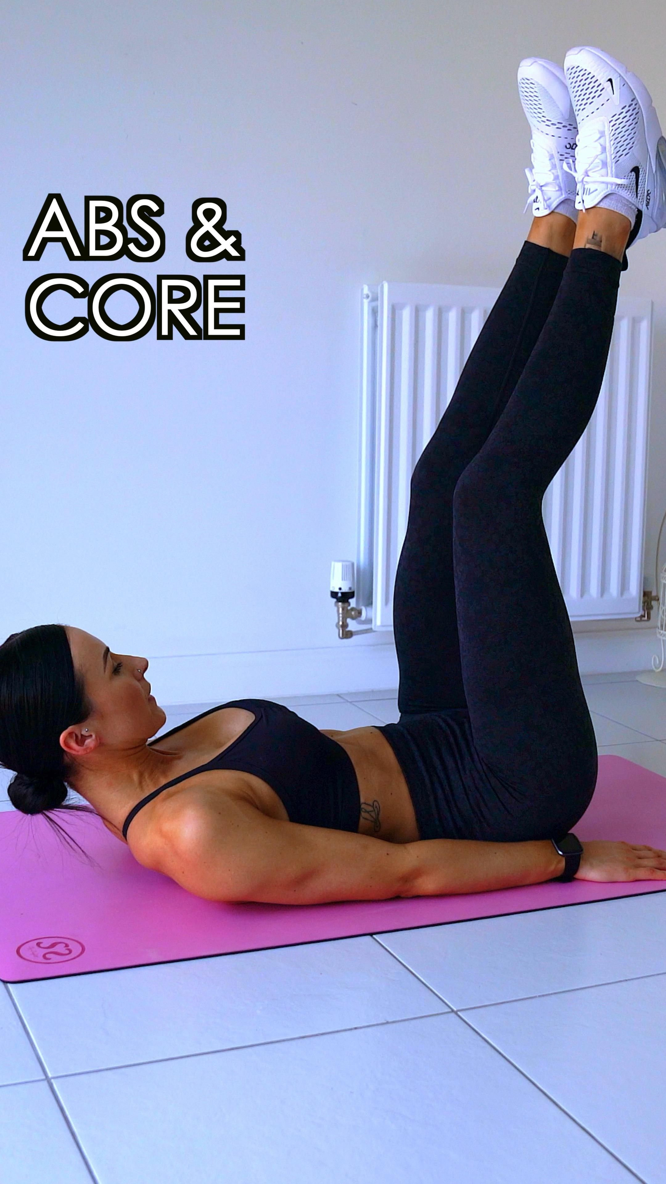 Abs & Core   Home Workout