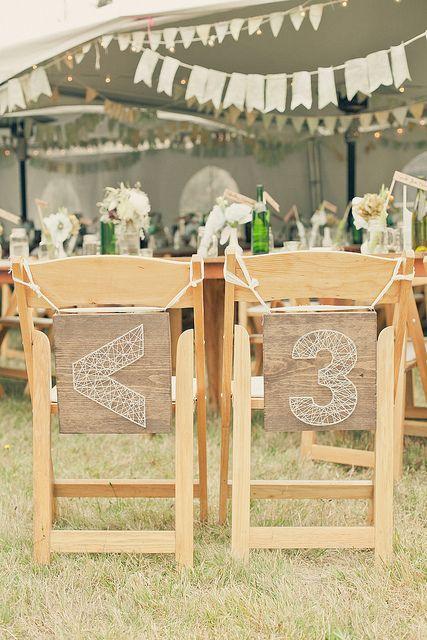 <3 string chair markers - Sfoara se poate comanda de aici: http://www.textilais.ro/produse.html