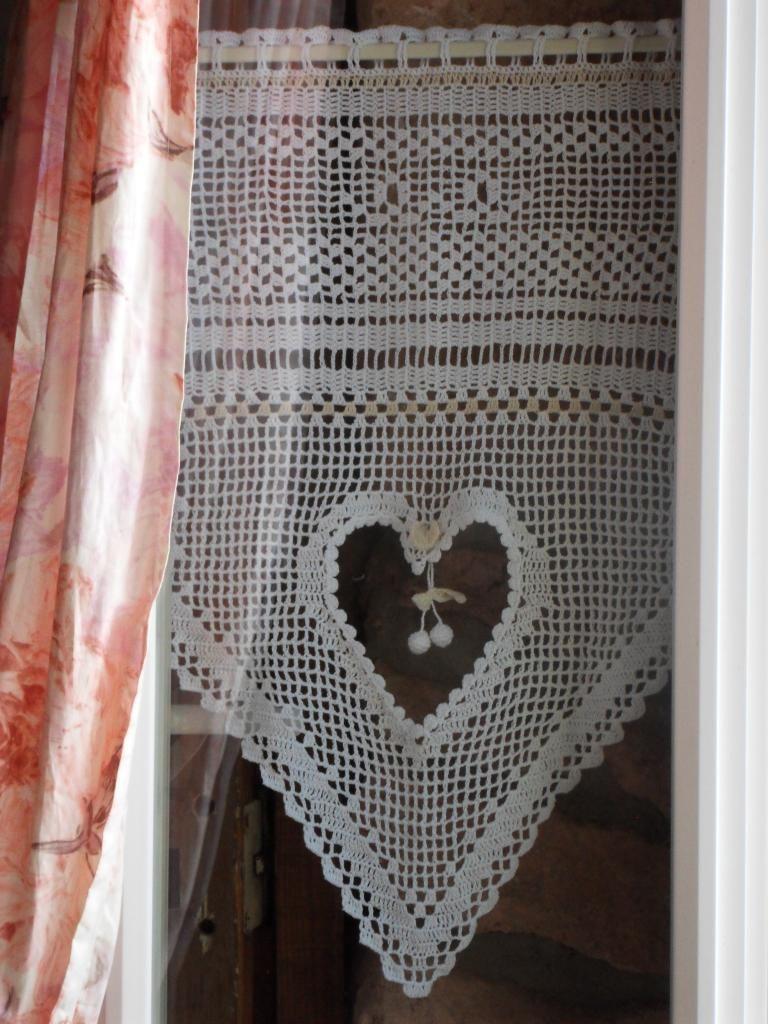 rideaux crochet