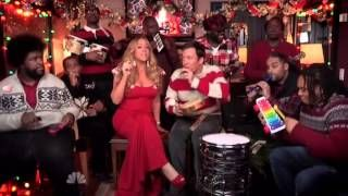 Mariah Carey Jimmy Fallon All I Want For Christmas Is You Full Version With Introduction Via Youtube Mariah Carey Mariah Carey Music Jimmy Fallon
