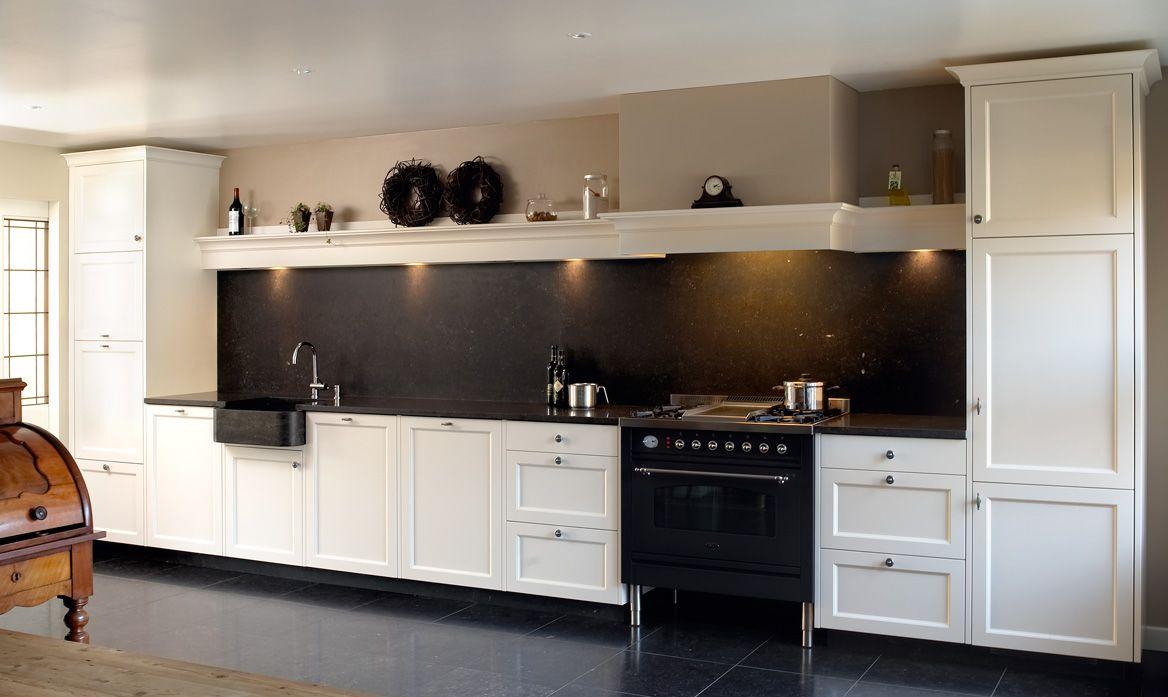 Landelijk Keuken Modern : Vri interieur landelijke keuken modern wit wonen pinterest